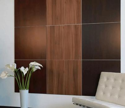 Paneles decorativos de madera pared medrano home - Paneles decorativos para exterior ...