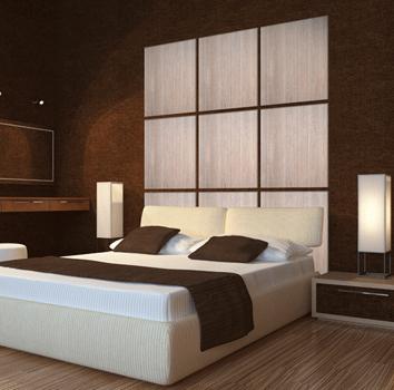paneles de madera a doble cara para forrar paredes obteniendo un diseo clido y minimalista